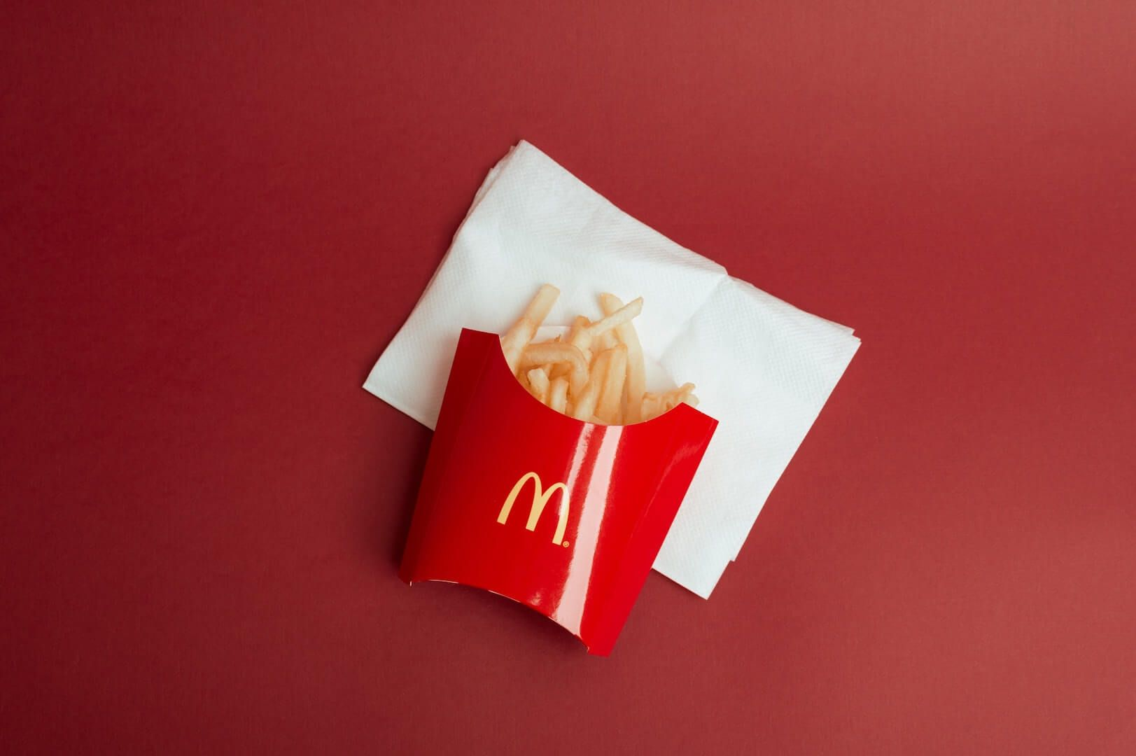 mcdonalds patat