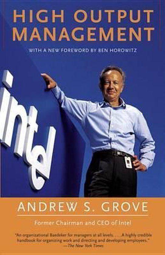 Boek notes: High Output Management door Andy Grove