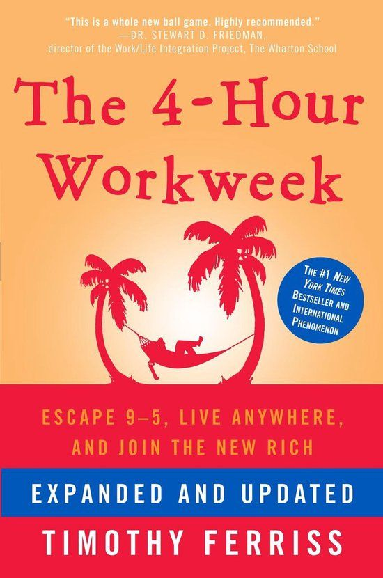 Boek notes: The 4-Hour Workweek door Timothy Ferriss
